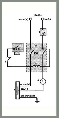Электрическое подключение электрокотла КВЭ